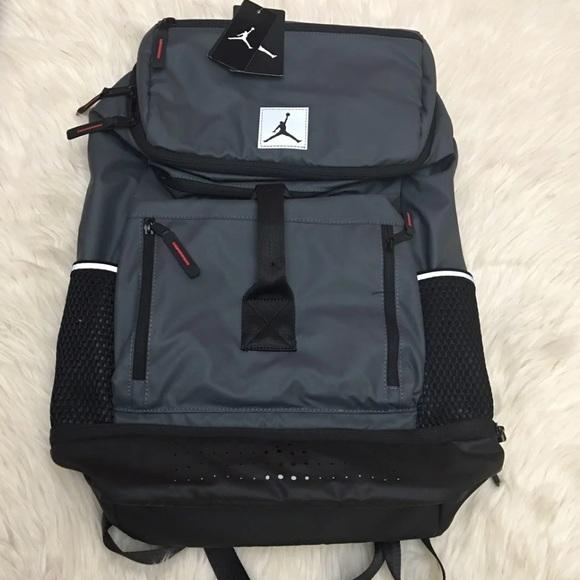 651ea35692e4bc Jordan breakfast club backpack new